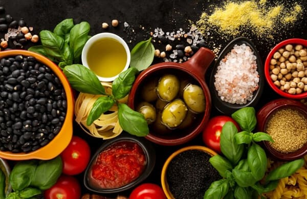 veggies, table, foods, healthy-food, Healthy non-perishable foods