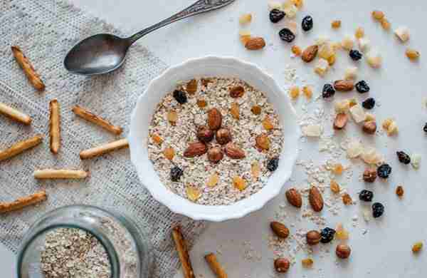 Healthy nutrient-packed breakfast cereal, Healthy, nutrient-packed, breakfast, cereal, nutrients, meal, fiber, calories