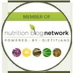 Member of nutrition blog network logo