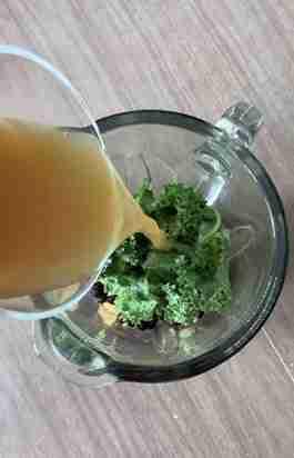 Blended keel juice