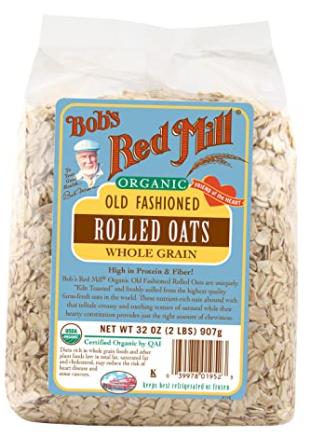 Bob's Red Mill Organic Regular Rolled Oats