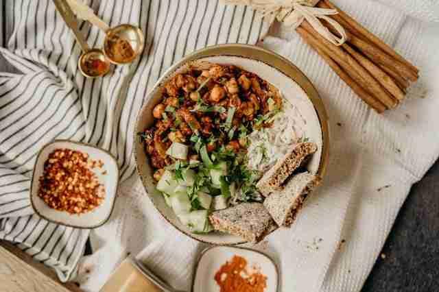 Vegan Chili Bowl